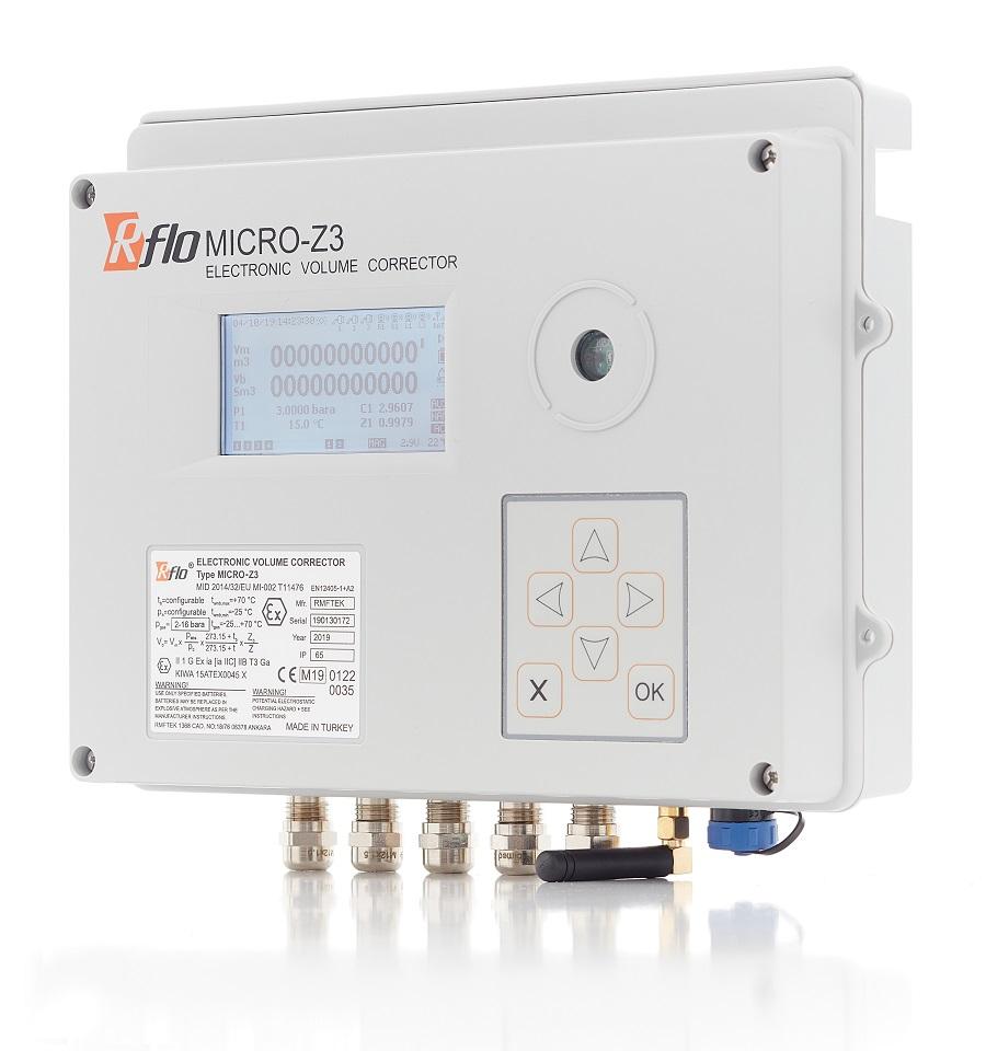 RFLO MICRO-Z3 Elektronische Mengenumwerter