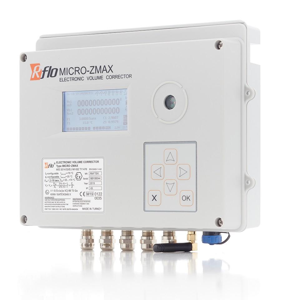 RFLO MICRO-ZMAX Elektronische Mengenumwerter