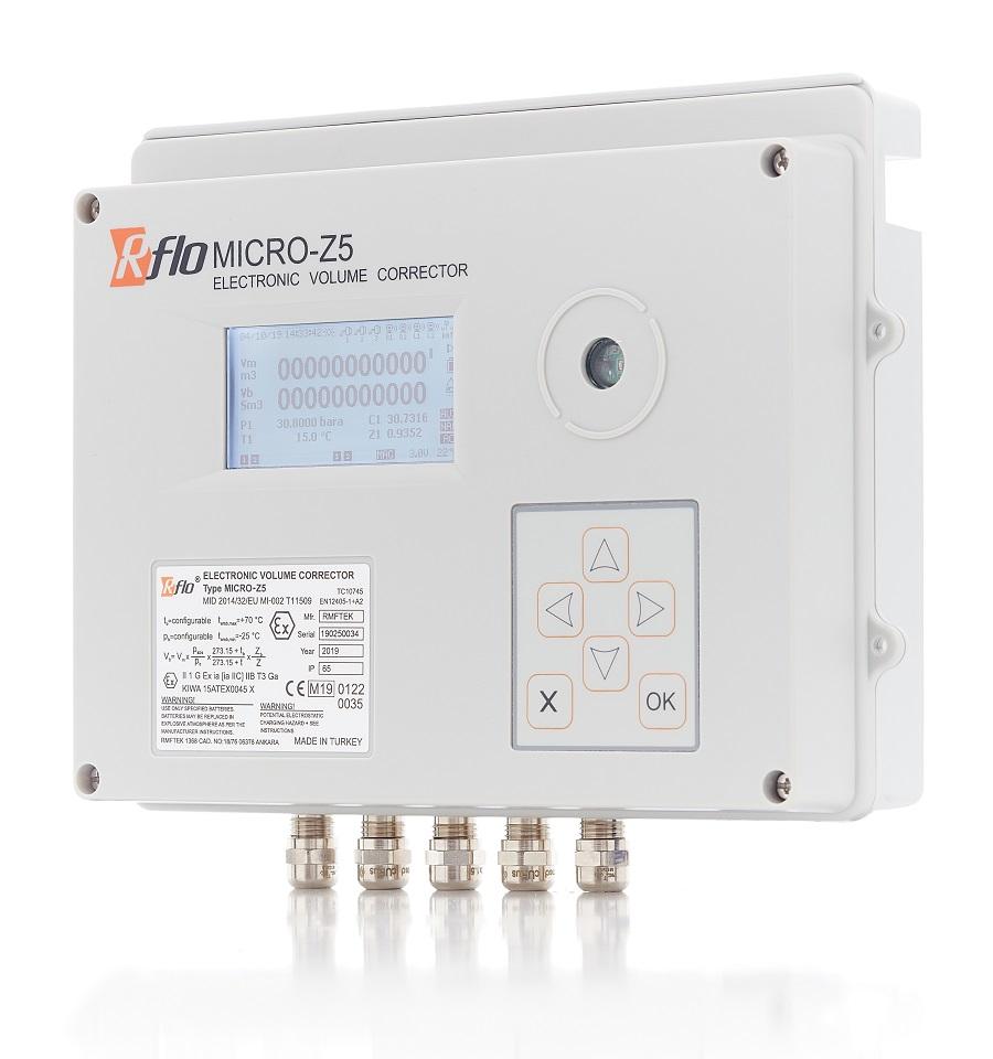 RFLO MICRO-Z5 Corrector de Volumen Electrónico