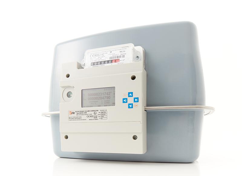 Компактный Электронный Корректор Объема Газа для Газовых Счетчиков Диафрагменного Типа