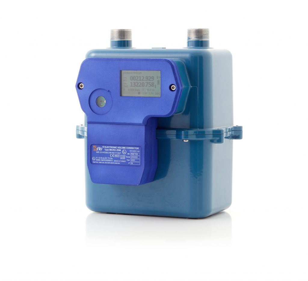 Compact Electronic Volume Corrector for Diaphragm Type Diaphragm Meters G4